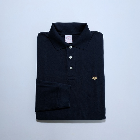 5b34cbfb Brooks Brothers Shirts | Mens Long Sleeve Polo Shirt Small | Poshmark